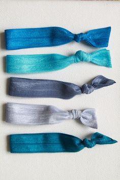 The Beka Set- 5 No-Crease Hair Ties