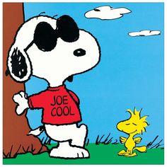 SCHULZ - Peanuts (Joe Cool) 27x27 cm #artprints #interior #design #art #print #cartoon  Scopri Descrizione e Prezzo http://www.artopweb.com/categorie/cartoni/EC19997