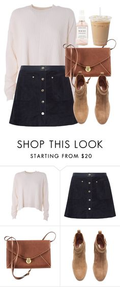 """Untitled #5684"" by laurenmboot ❤ liked on Polyvore featuring Acne Studios, rag & bone, H&M and Herbivore"