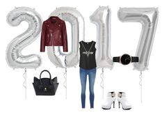 """""""2017 My way"""" by katsavy on Polyvore featuring Ganni, Freedom To Exist and Sydney Evan"""
