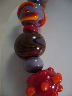 85C Collier Flonche orange detail | Flickr: partage de photos!