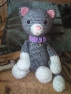 Amigurumi Doll, Teddy Bear, Dolls, Diy, Animals, Baby Dolls, Animales, Bricolage, Animaux