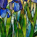 Daffodil Day Glass Art by David Kennedy
