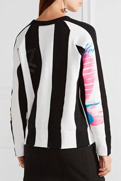 Marc Jacobs - Printed Cotton-jersey Sweatshirt - Black
