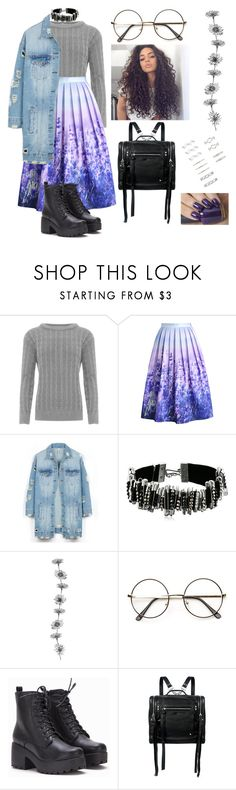 """""""Untitled #349"""" by lsaboru ❤ liked on Polyvore featuring WearAll, Chicwish, LE3NO, Marc Jacobs, McQ by Alexander McQueen, Forever 21 and OPI"""