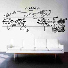 Cheap stickers coffee, Buy Quality sticker cheap directly from China sticker transfer Suppliers:  CafeSticker CoffeeDecal Coffee Sticker Food Decal Cafe Poster Vinyl Art Wall Decals Pegatina Quadro P