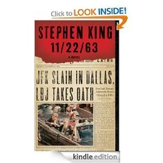 "11/22/63 by Stephen King.  One of his books I really enjoyed ~Reminds you to ""be careful what you wish for!"""