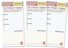 Gratis download: How-To-Tweet Worksheet! Bedenk van te voren wat voor soort tweets je wilt schrijven - zo voorkom je een tijdlek én twitter je effectiever. ^D