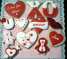 Valentine's Day Cookies   Cookie Connection