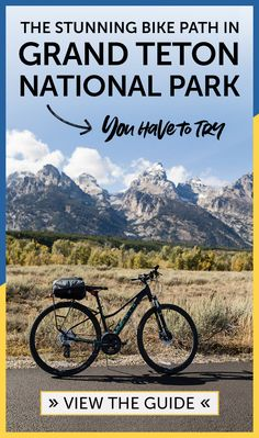 There are tons of options for biking in Jackson Hole and Grand Teton National Park, including some car-free bike paths known as the Jackson Hole Community Pathways, complete with incredibly scenic views. Check out this in-depth guide with tips and suggested routes! via @roamtheamericas Hawaii Travel, Usa Travel, Travel Tips, Travel Destinations, National Parks Usa, Grand Teton National Park, Bike Path, Travel Activities, Jackson Hole