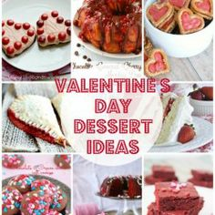 Valentine's Day Dessert Ideas - I heart naptime