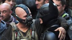 Behind the scenes - Tom Hardy and Christian Bale- Batman The Dark Knight Rises