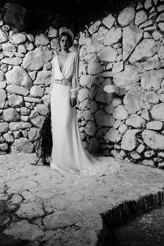 Lush Long Sleeve Wedding Dresses - Bo and luca Cannes v-neck Second Hand Wedding Dresses, 2016 Wedding Dresses, Dresses 2016, Luxury Wedding Venues, Luxury Wedding Dress, Dream Wedding, Chic Wedding, Wedding Things, Bo And Luca