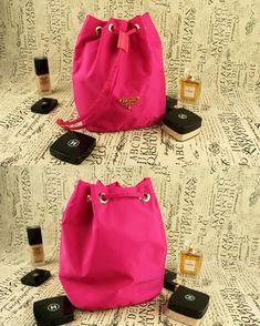 9879228ecf6d release date prada nylon cosmetic pouch bag purple a692a b009d
