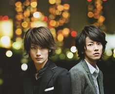 HT - Haruma miura & Takeru satoh  Two cutie guys from AMUSE ent that i love aside One Ok Rock