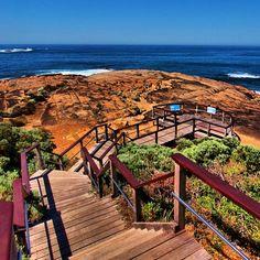 Cape Leeuwin Western #Australia ~ where the Southern Ocean & Indian Ocean meet.