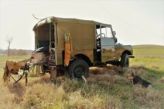 Land Rover 86 Series One Soft Top Camping.