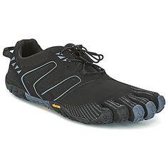 Bežecká a trailová obuv Vibram Fivefingers V-TRAIL čierna   šedá 139.00 €  Behanie 11ba5826889