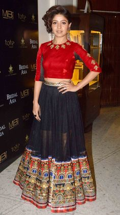 Sunidhi Chauhan at the media preview of a fashion show with designers Shane & Falguni Peacock. #Bollywood #Fashion #Style #Beauty