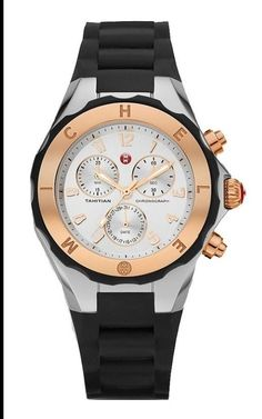 MICHELE MWW12f000059 Tahitian Jelly Bean 2tone silver/rose gold womens 40mm