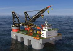 Massive MAN propulsion package for Heerema's new crane vessel