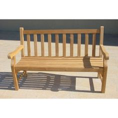 Find gorgeous Outdoor Benches at Wayfair for your backyard or patio. Home Furniture, Outdoor Furniture, Outdoor Decor, Teak Garden Bench, Outdoor Living, Living Spaces, Backyard, Wood, Modern Patio