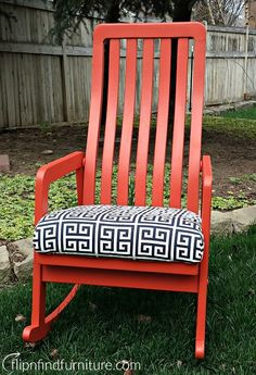 ROCK WHAT YOU'VE GOT! Outdoor Chairs, Outdoor Furniture, Outdoor Decor, Diy Furniture Redo, Solid Oak, Rocking Chair, Bench, Home Decor, Chair Swing