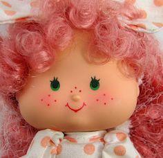 Peach Blush Doll, Friend Of Strawberry Shortcake