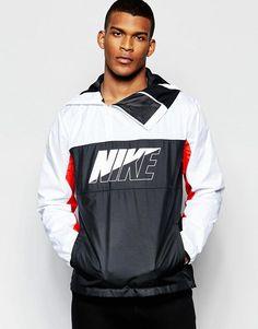 Nike | Nike AV15 Hooded Jacket In White 804334-100