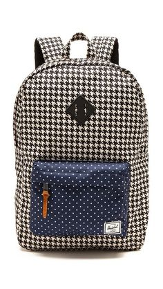 Herschel Supply Co. Heritage Backpack ** Pattern mix detail