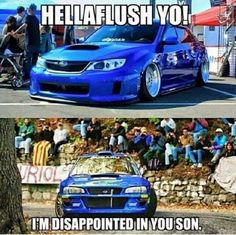 Auto Quote Shame in the Subaru Family Hot Car Memes