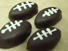 football oreo balls