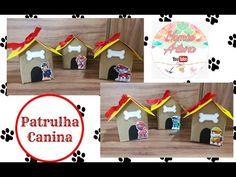 DIY || CAIXA CASINHA || PATRULHA CANINA || FEITA COM CAIXA DE LEITE/SUCO Taisa Alves - YouTube