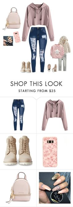 """""""Saturday afternoon"""" by anahayes on Polyvore featuring Timberland, Samsung and MICHAEL Michael Kors"""