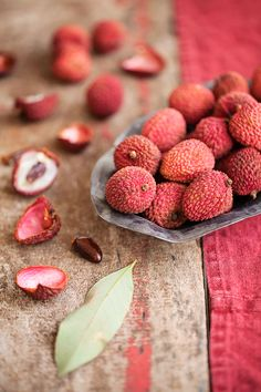 Lychee nuts...mmmmmm!  Just peel off hard outer fibre & eat your jelly fruit but not the inner seed.  Love 'em.