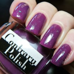 Contrary Polish: Perplexing Plum