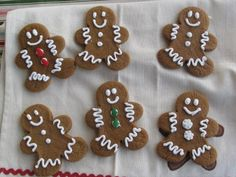 Anissa's Kitchen: Gingerbread Men