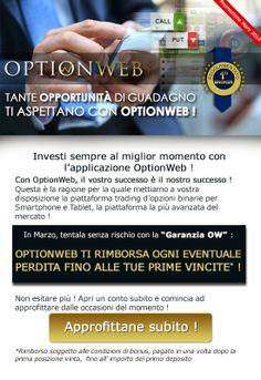 Rimborso #Trading #Opzioni Binarie Marzo 2014: la garanzia che ti permette di ricominciare #gratis  http://www.itradingforexonline.com/2014/03/rimborso-opzioni-binarie-2014.html