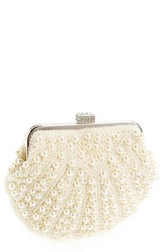 Natasha Couture Beaded Clutch available at #Nordstrom