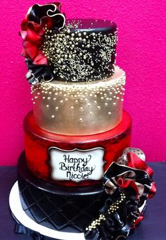 Nicole Scherzinger Birthday Cake by Gimme Some Sugar (vegas!), via Flickr