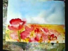 Janet Rogers: Expressive Watercolor Florals DVD - YouTube