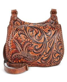 bdd7c7b9a4fd Patricia Nash Borghetto Braided Saddle Bag - Handbags  amp  Accessories -  Macy s Shoulder Handbags