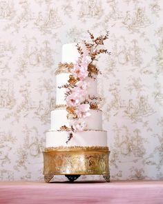 Une de mes créations, tel que vu dans le mariage Québec !  Un vrai chef-d'œuvre que ce gâteau! www.mariagequebec.com