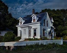 The Original Edward Hopper Houses - Photo Essay - NYTimes.com  Hodkin's house, Cape Ann Massachusetts