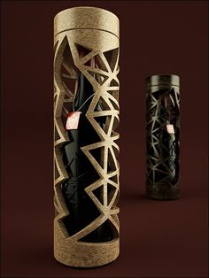 What a great wine packaging design!