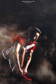 Once a gooner. Arsenal Fc, Mesut Ozil Arsenal, Arsenal Players, Arsenal Football, Real Soccer, Soccer Fans, Football Players, Free Football, Football Art
