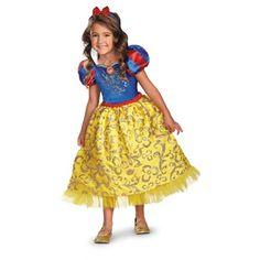 Deluxe Snow White Sparkle Costume - Girls
