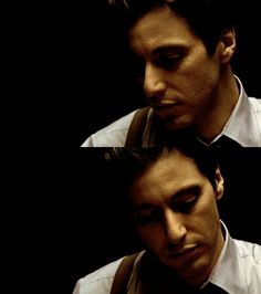 Young Al Pacino. The Godfather. Classic.