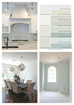 Nearly perfect neutral paint colors.