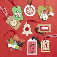 gift tags / étiquettes cadeaux
